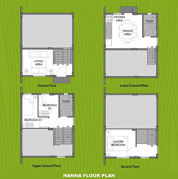 Hanna Floor Plan House and Lot in Zambales