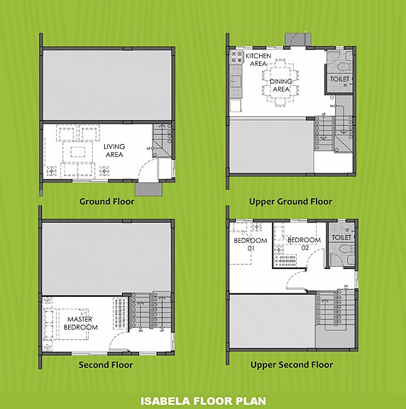 Isabela Floor Plan House and Lot in Zambales