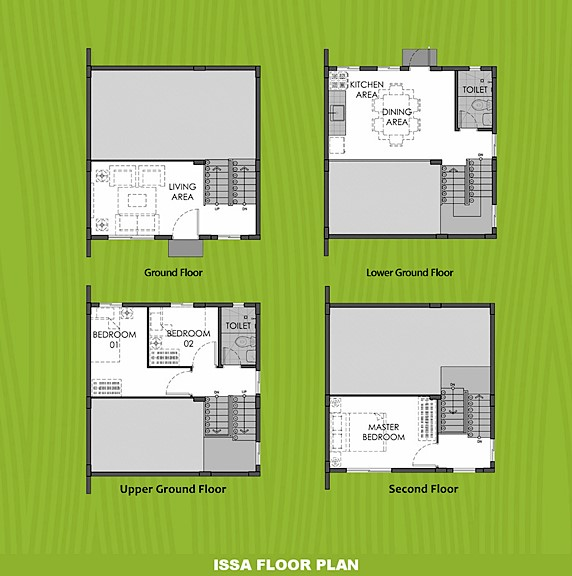 Issa Floor Plan House and Lot in Zambales
