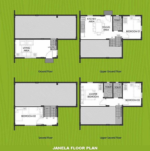 Janela Floor Plan House and Lot in Zambales