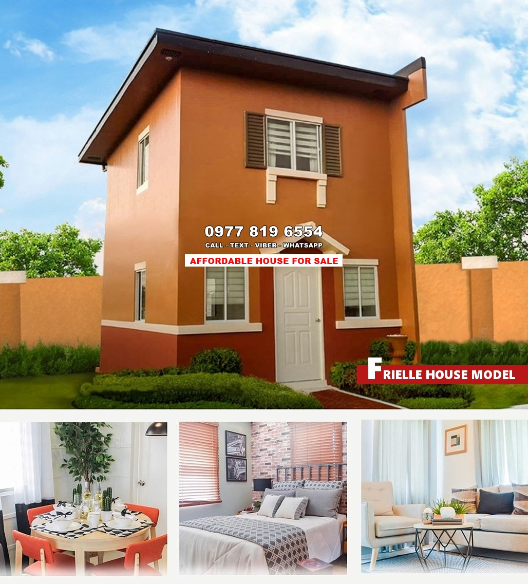 Frielle House for Sale in Zambales