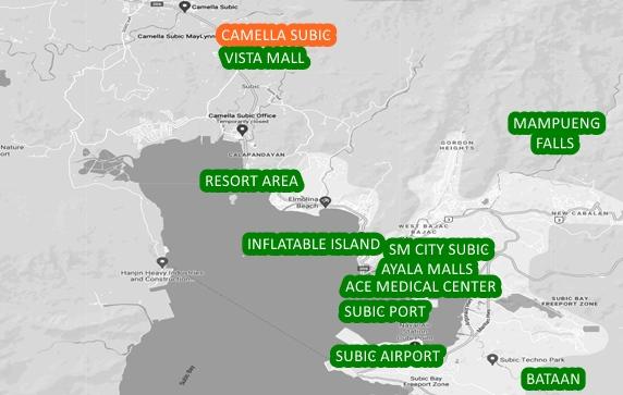 Zambales Property Vicinity Map